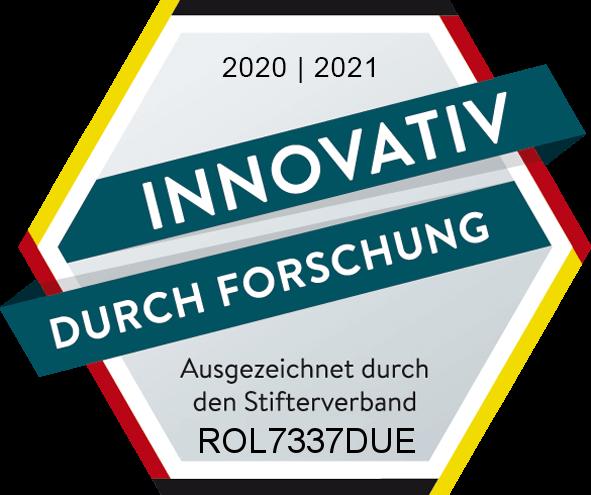 Auszeichnung Stifterverband 2020